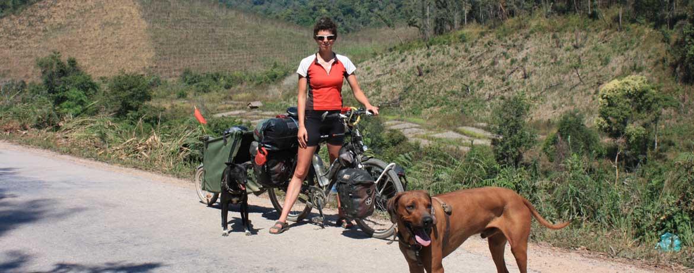 Mit dem Velo und Hunden um die Welt, Teil 17
