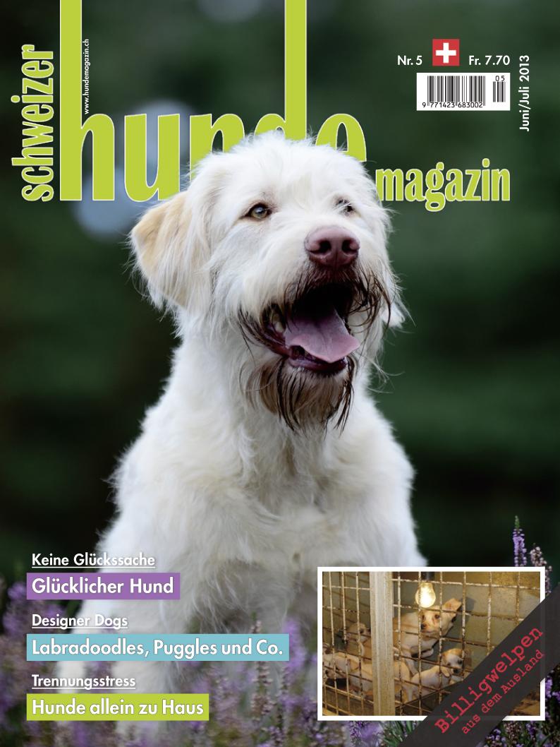 Schweizer Hunde Magazin 05/2013