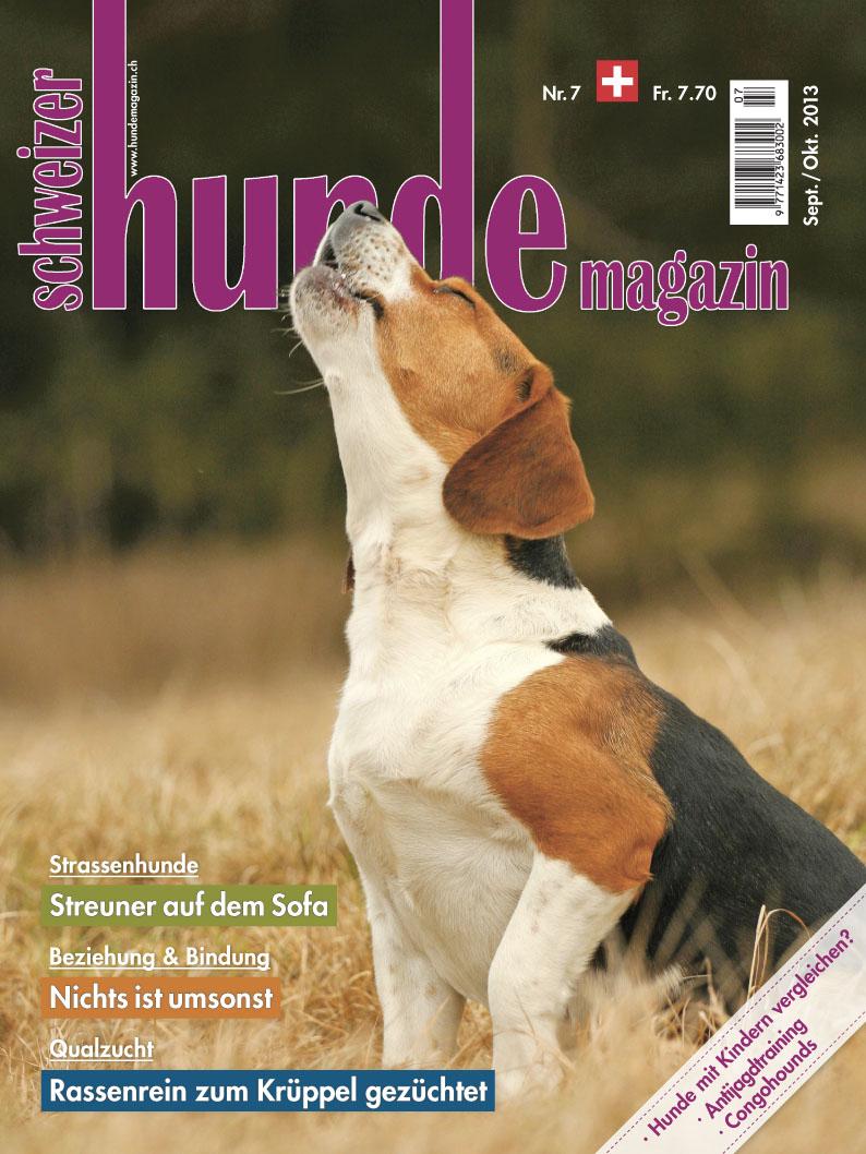 Schweizer Hunde Magazin 07/2013