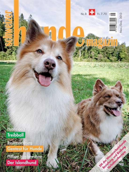 Schweizer Hunde Magazin 08/2013
