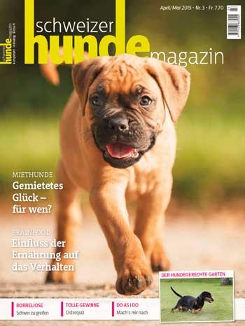 Schweizer Hunde Magazin Nr. 3 / 2015