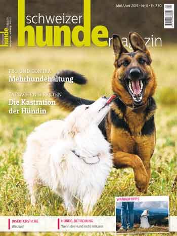 Schweizer Hunde Magazin Nr. 4 / 2015