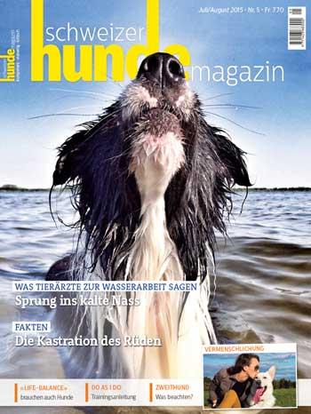 Schweizer Hunde Magazin Nr. 5 / 2015
