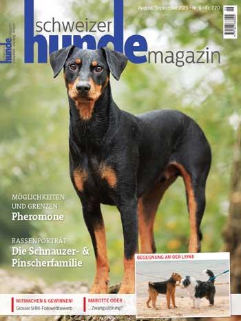 Schweizer Hunde Magazin Nr. 6 / 2015