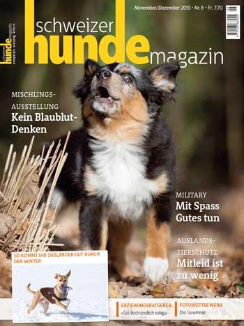 Schweizer Hunde Magazin Nr. 8 / 2015