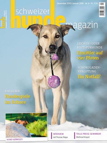 Schweizer Hunde Magazin Nr. 9 / 2015