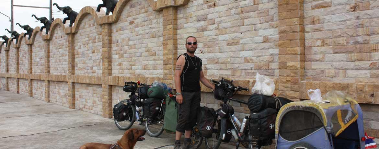 Mit dem Velo und Hunden um die Welt, Teil 21